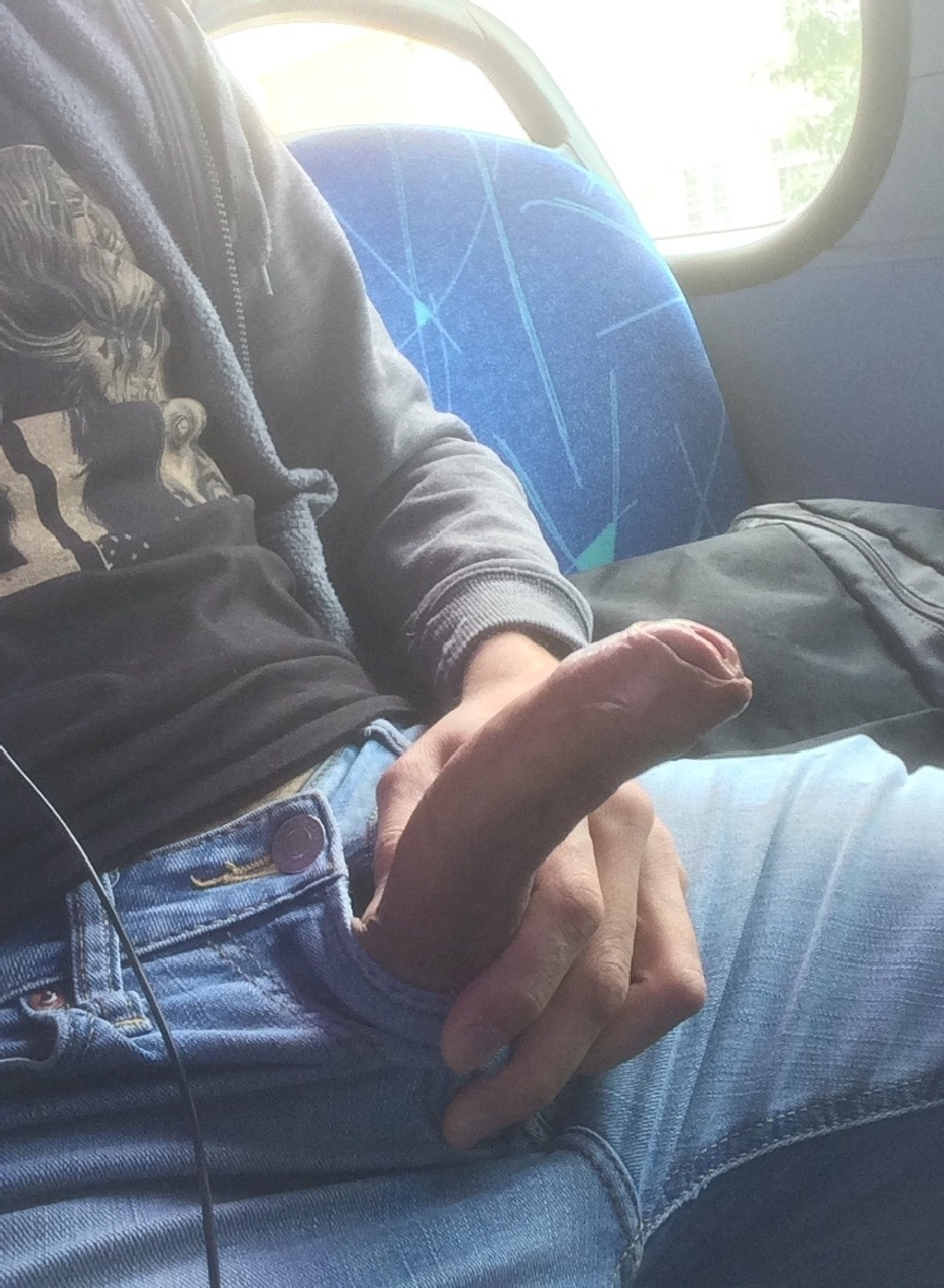 Cock Out On Bus