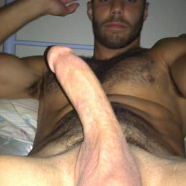 Shaved or hairy penis