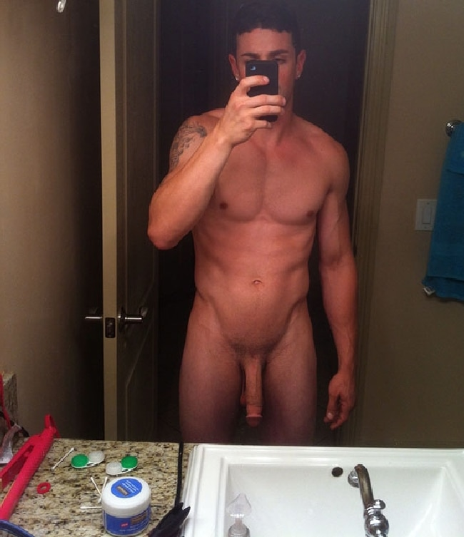 Hung Nude Man