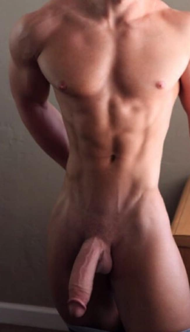 Muscle Guy Big Dick