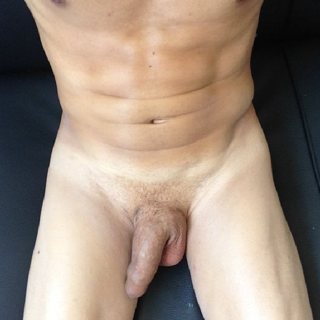 Nude Man With A Thick Uncut Cock